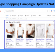 Google shopping campaign update